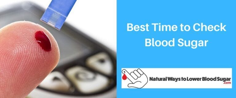 Best Time to Check Blood Sugar